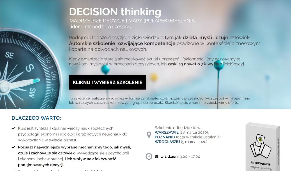 decision thinking